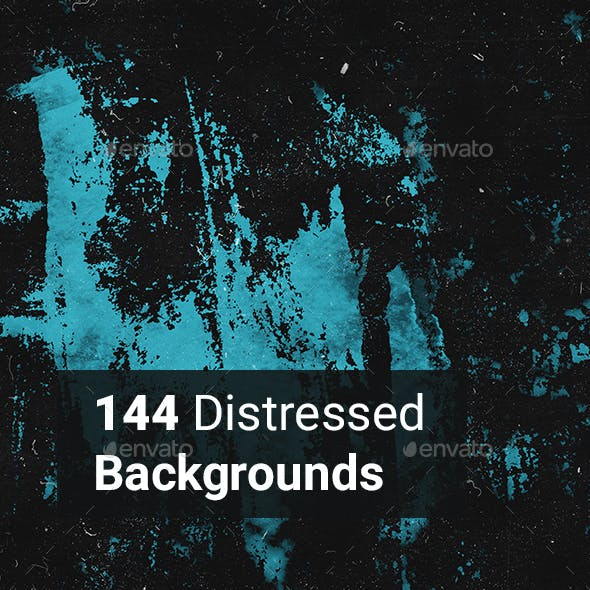144 Distressed Backgrounds