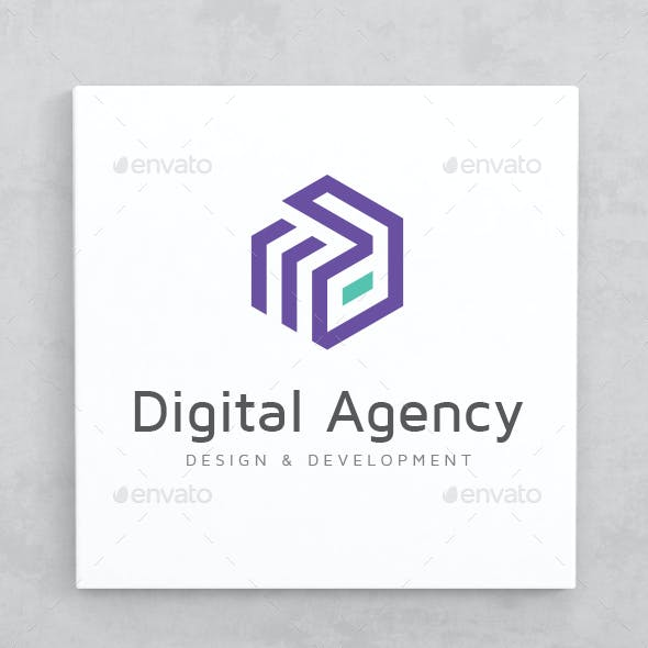 Digital Agency Logo Template