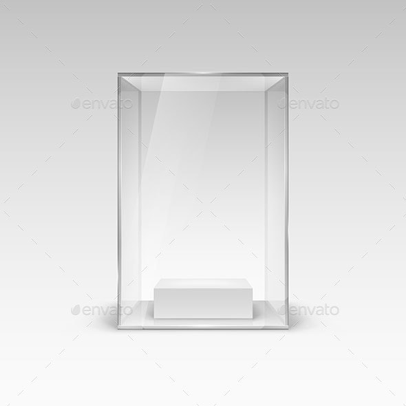 Glass Showcase - Man-made Objects Objects