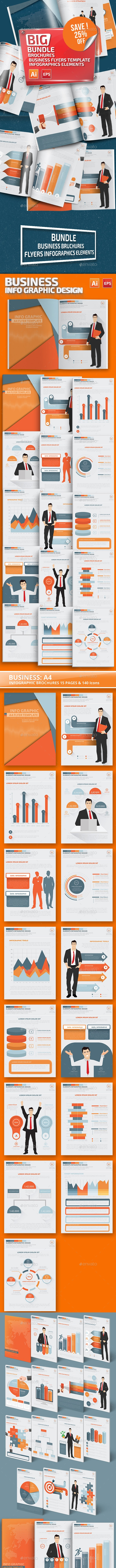 Bundle Business Flyer Infographics - Infographics