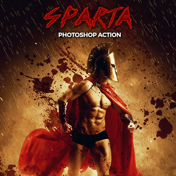 Sparta - Photoshop Action