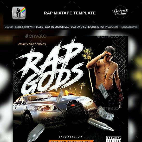 Rap Mixtape Template