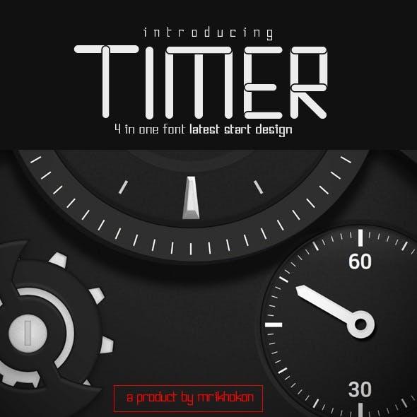 Timer Font