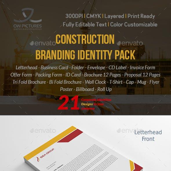 Construction Company Branding Identity