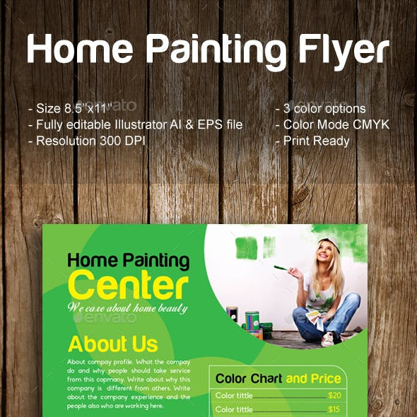 Home Painting Flyer