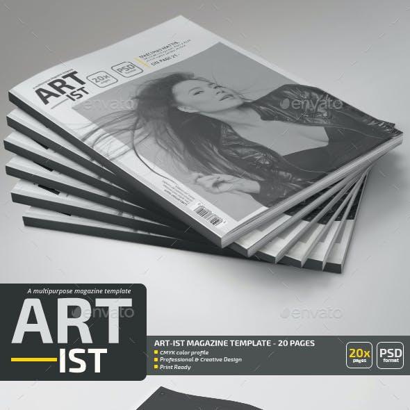 Art-ist Magazine Template V.5
