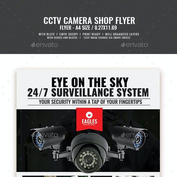 CCTV Camera Shop Flyer v3