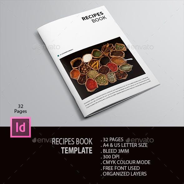 Recipe Book Template