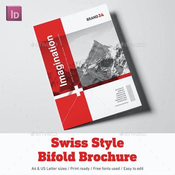 Swiss Style Bifold Brochure