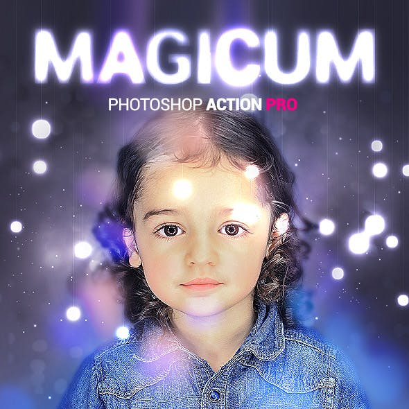 Studio Lights - Magicum - Photoshop Action