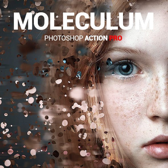 Molecular Dispersion - Moleculum - Photoshop Action