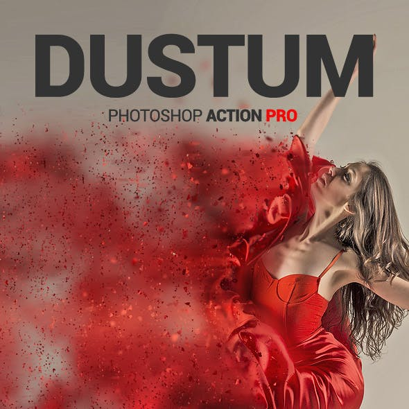 Dust Dispersion - Dustum - Photoshop Action