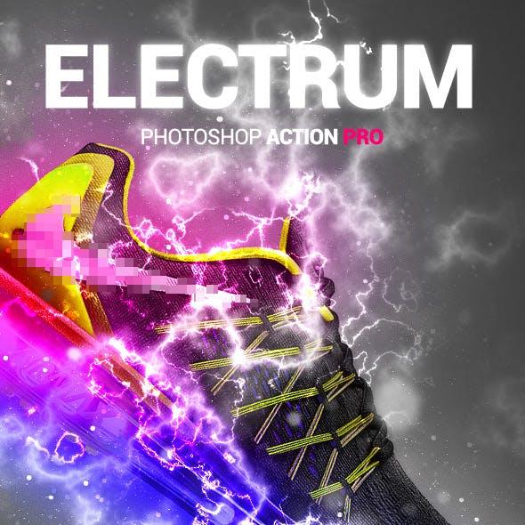 Electric Lightning - Electrum - Photoshop Action