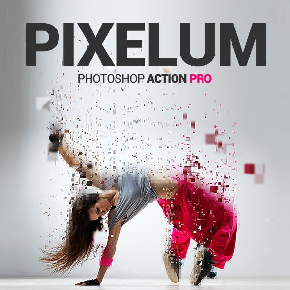 Pixels Dispersion - Pixelum - Photoshop Action