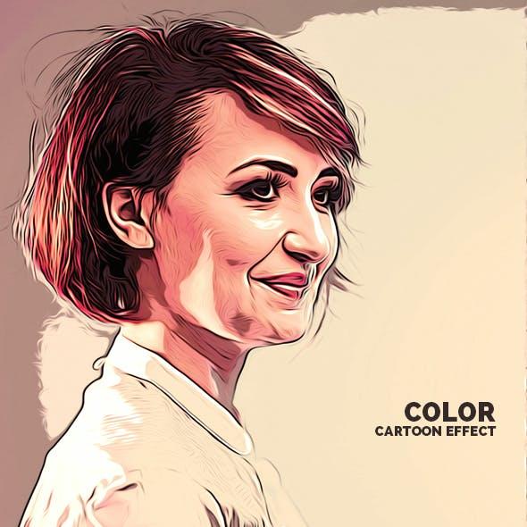 Color Cartoon Effect