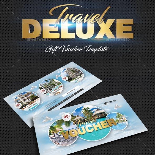 Travel Tour Gift Voucher