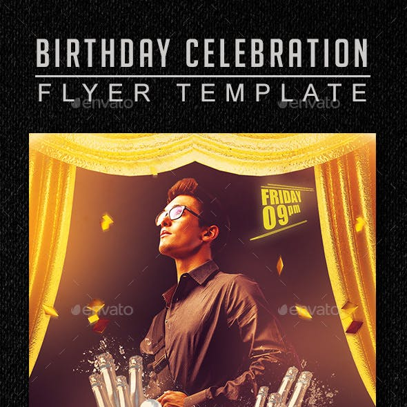 Birthday Celebration Flyer 1