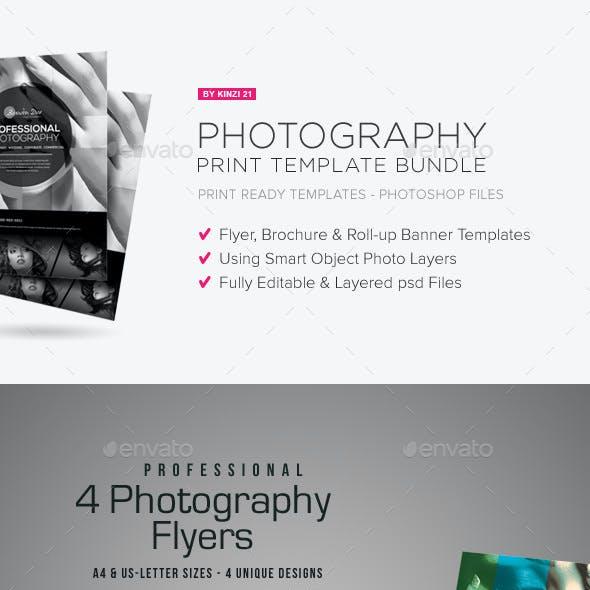 Photography Print Template Bundle