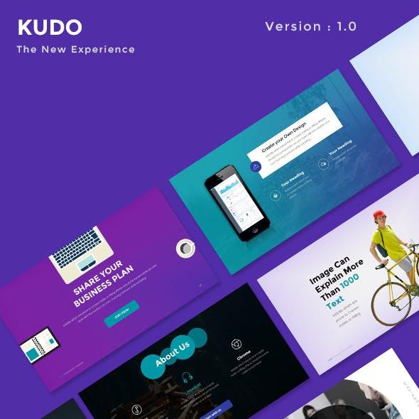 KUDO - Multipurpose Powerpoint Presentation Template