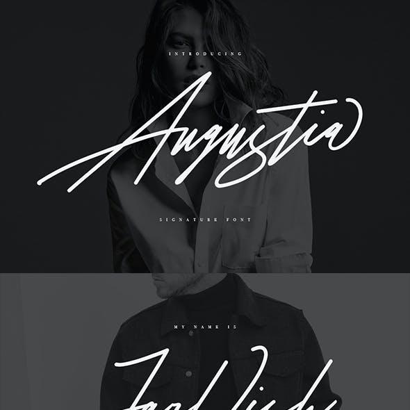 Augustia Signature Typeface