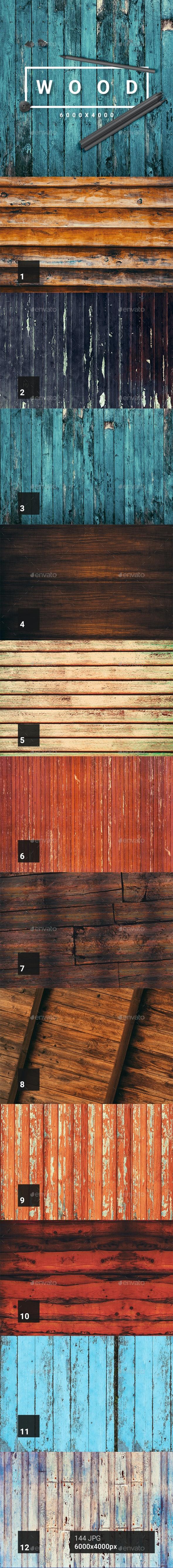 144 Wood Textures - Wood Textures