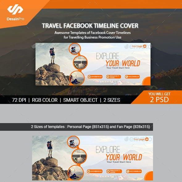 Traveling Facebook Timeline Cover - AR