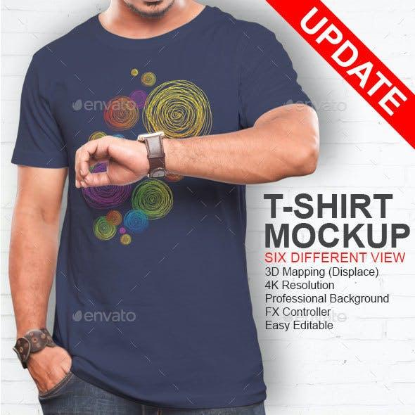 Professional Tshirt Mockup