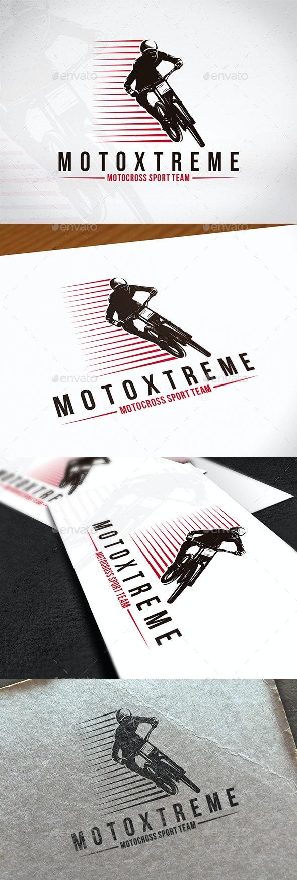 Moto Xtreme Logo Template - Sports Logo Templates