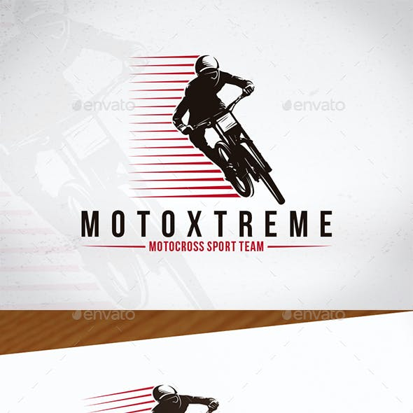 Moto Xtreme Logo Template