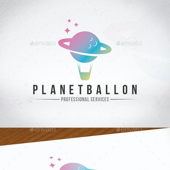 Planet Ballon Logo Template