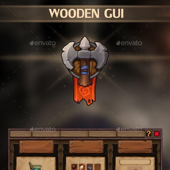 Wooden UI