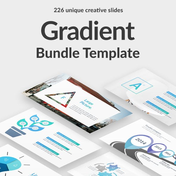 Gradient Bundle Google Slide Template