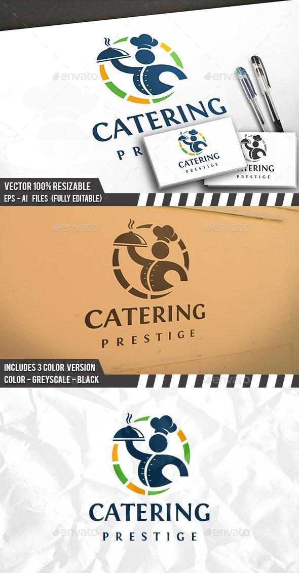 Food Service Logo - Restaurant Logo Templates
