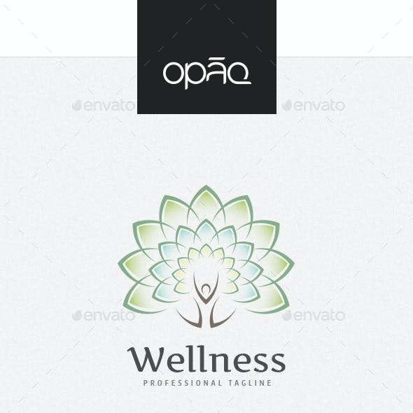 Blooming Human Tree Logo