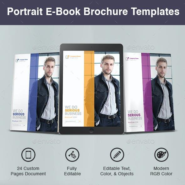 Portrait E-Book Brochure