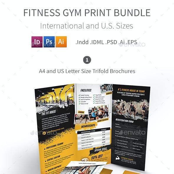 Fitness Gym Print Bundle 5