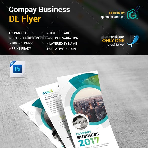 Company DL-Flyer