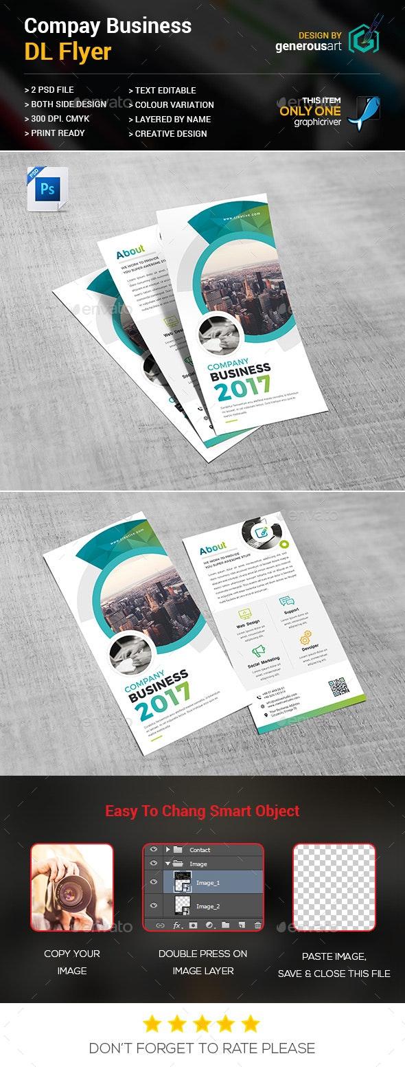 Company DL-Flyer - Flyers Print Templates
