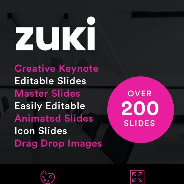 Zuki - Keynote Presentation Template