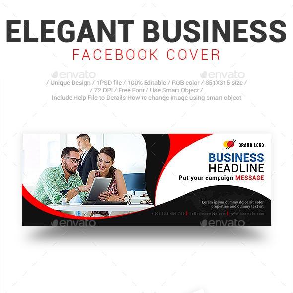 Elegant Business Facebook Cover Vol-01