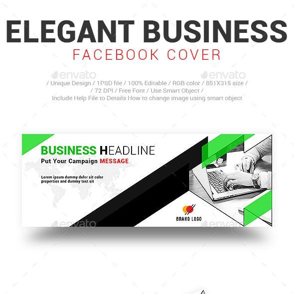 Elegant Business Facebook Cover Vol-02