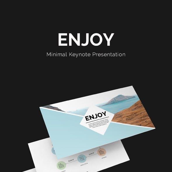 Enjoy Keynote Template