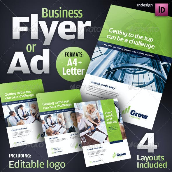 Corporate Business Flyer / Ad / Product Sheet