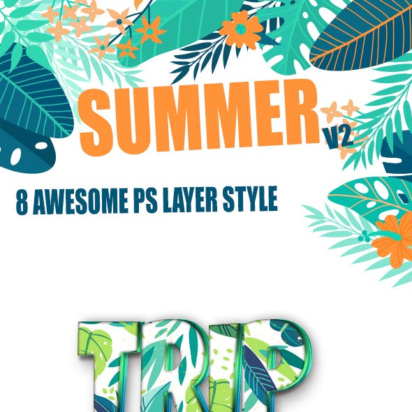 Summer Text Layer Style v2