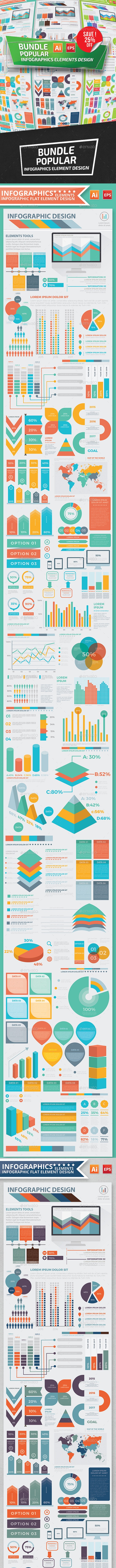Bundle Popular Infographics - Infographics