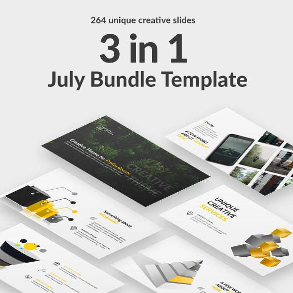July Bundle Powerpoint Template