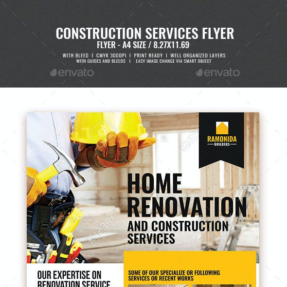 Construction and Building Flyer v2