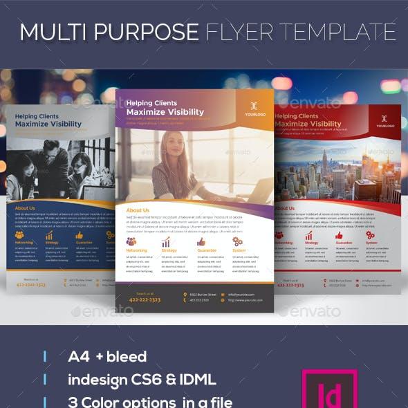 Multi Purpose Flyer