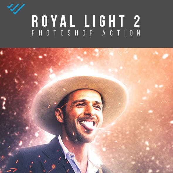Royal Light - 2 Photoshop Action