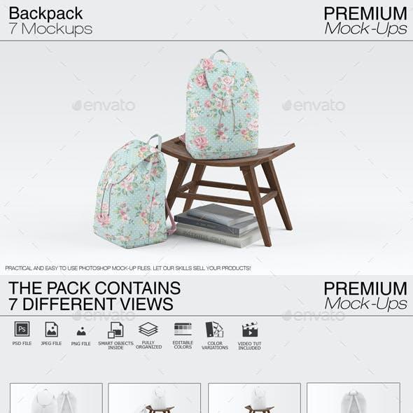 Backpack Mockups